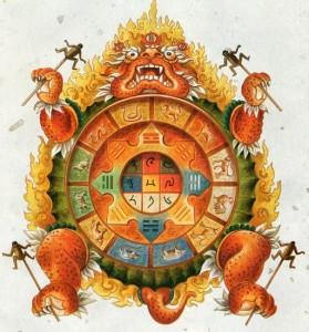 Calendrier tibétain  2016