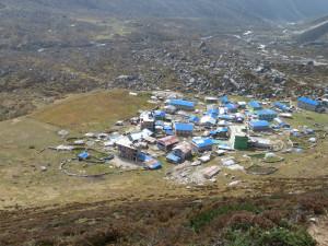 Kianjing Gumba vue d'en haut