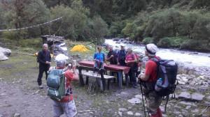 Les trekkeurs de TPH Langtang 0ctobre 2016 1