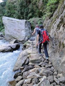 10 JP long de la rivière Langtang Khola