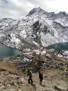 116 JP Vue sur Gosainkund et les lacs