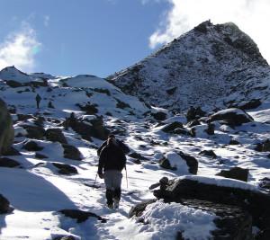 122 JP Vue partielle sur le Surya Peak