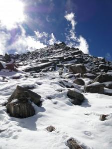 125 JP montée au Surya Peak