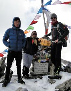 129 JP Lhakpa, Gyurmay et JP au sommet