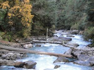 17 JP pont sur la Langtang Khola