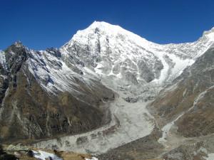 77 JP Le Langtang Lirung et son glacier