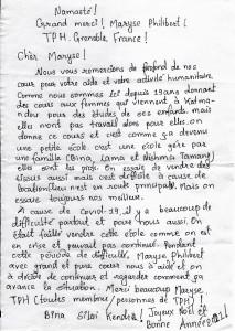 lettre Bijay